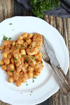 Rezepte mit Herz: Chicken Gnocchi Pfanne ♡