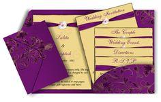 Modern Elegant Wedding Invitations cards (6)   Trendy Mods.Com