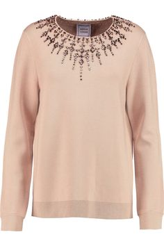 HERVÉ LÉGER Ane crystal-embellished stretch-jersey top £501.75 http://www.theoutnet.com/products/632401