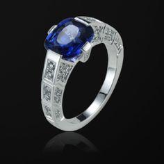 Anillo de compromiso Oro blanco Diamante - Piaget Boda G34L5000