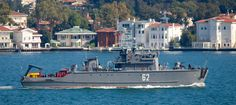 Bulgarian mine sweeper Shkval heading to Northern Aegean for Nusret 2015 Exercise. Photo: Yörük Işık.