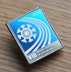 Vintage Soviet Russian USSR VIII Trade Union Winter Spartakiad Pin Badge    eBay