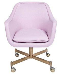 work, office, desk, chair, roller chair, office chair, desk chair, lilac, lavender, purple