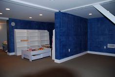 Ralph Lauren Blue Denim Wall  www.josephviens.com