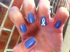 PH Awareness Nails (One of three to come) Heart And Lungs, Nails First, Pulmonary Hypertension, Nursing Notes, Periwinkle, Nurses, Crosses, Breathe, Ph