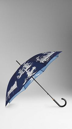 London Landmarks Walking Umbrella | Burberry