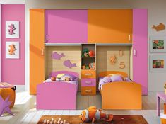 Italian Kids Bedroom Composition VV S008LO - $3,199.00