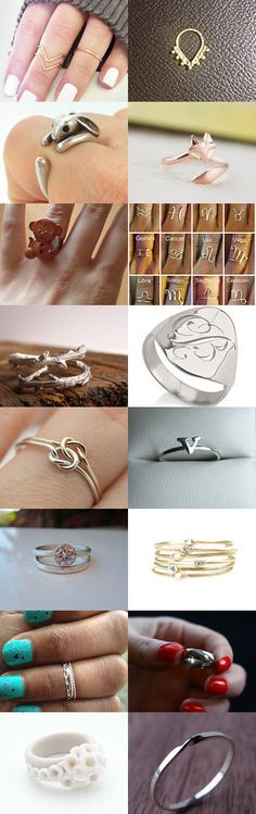Unique Rings by TheDaintyBoutique on Etsy--Pinned with TreasuryPin.com
