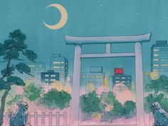 sailor moon scenery : Photo