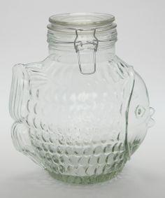 fishy cookie jar