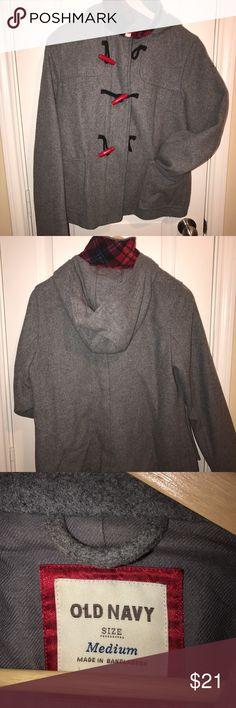Lightweight, wool like jacket Comfortable fall jacket Old Navy Jackets & Coats Utility Jackets