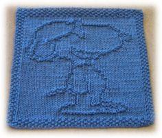 Free Knitting Pattern - Dishcloths & Washcloths : Beagle Cloth