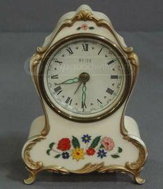 shopgoodwill.com: Damaged Vintage Heiss Alarm Clock Music Box