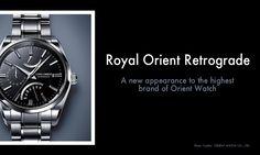 Royal Orient Retrograde Watch
