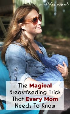 If you're struggling with getting your baby to unlatch once they've fallen asleep, then you need to learn this breastfeeding trick that works like magic!