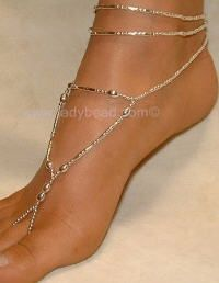 barefoot jewelry for beach, lake or even beach wedding