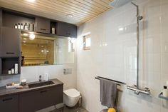 Pieni ja näppärä pönttö 10 Kannustalon Lato - Pesuhuone / WC