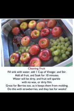 Fruit wash