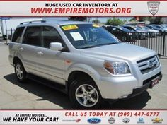Montclair CA 2006 Honda Pilot Ex-L with Naviagation and DVD Used SUV at Empire Motors in Montclair Ca  www.empiremotors.org