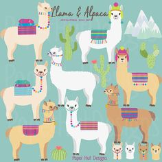 Llama Clipart-Alpaca Clipart-Llama Clip Art-Alpaca Clip Art-Cactus Plants-Llama Faces-Alpaca Digital-digital Perfect for scrapbooking, invitations, card making and all your creative craft projects. Suitable for Commercial or Personal Use WHAT YOU WILL Alpacas, Alpaca Wallpaper, Llama Clipart, Llama Face, Clip Art, Illustrations, Scrapbooking, Collage Sheet, Digital Collage