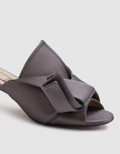 5ac7d3087fdc1 ShopStyle Collective   Women Sandal   Bow flats, Flats, Bow slides