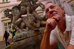 Kandidát na primátora Andrej Palacko Lion Sculpture, Greek, Statue, Photograph, Art, Photography, Art Background, Kunst, Photographs
