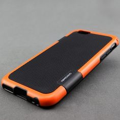 Iphone 6 case Soft Silicone Back Case Cover (Orange)