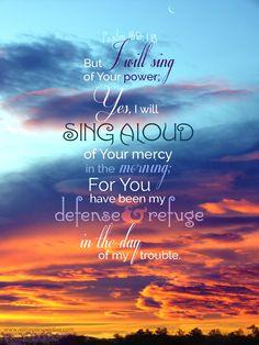 psalm 59 chiastic structure | christine's bible study at a little perspective (InJapanese:〈†(旧約)聖書〉詩篇   59:16 しかし、この私は、あなたの力を歌います。まことに、朝明けには、あなたの恵みを喜び歌います。それは、私の苦しみの日に、あなたは私のとりで、また、私の逃げ場であられたからです。)