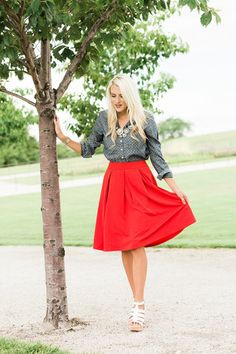 Solid Midi Skirt (more colors) – Mindy Mae's Market