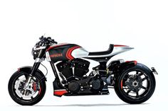 Arch Motorcycles unveils three new motorcycles at EICMA, featuring single-sided swingarms and a carbon-fiber MonoCell chassis. Hear the Method 143 in our video. Motorcycle Companies, Motorcycle Manufacturers, American Motorcycles, New Motorcycles, Keanu Reeves Motorcycle, Sportster Cafe Racer, Arch Motorcycle, Milan, Bike Builder