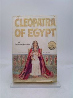Cleopatra of Egypt (World landmark books, W-50)