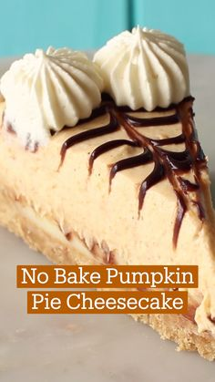 Just Desserts, Delicious Desserts, Yummy Food, Tasty, Baked Pumpkin, Pumpkin Recipes, Pumpkin Spice, Cheesecake Recipes, Dessert Recipes