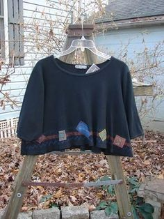 Barclay NWT Patched Thermal Crop Top Black Size 1