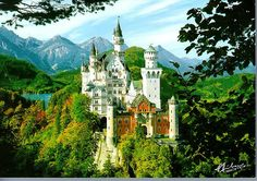Neuschwanstein Castle - a godawful climb to a godawful place lived in by a godawful lunatic!