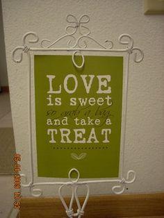 Candy Bar sign for your wedding candy bar @Hayley Sheldon Heintzelman
