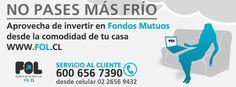 Aprovecha de invertir en Fondos Mutuos desde la comodidad de tu casa www.fol.cl