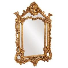 The item for sale is the Howard Elliott Arlington Gold Baroque Mirror. Antique Gold Leaf Baroque Arched Mirror Material is Resin. We are constantly updating our inventory and adding new product lines! Antique Gold Mirror, Baroque Mirror, Baroque Decor, Vintage Mirrors, Fancy Mirrors, Gold Framed Mirror, Victorian Decor, Venetian Mirrors, Antique Silver