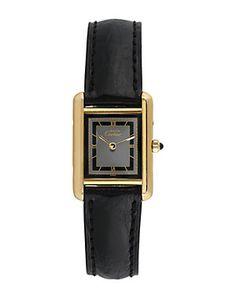 Cartier 1980s Women's Tank Watch