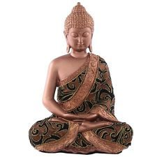 Checkout today with your Decorative Fabric Effect Thai Buddha Sitting Large by weeabootique!