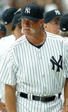 We take a look back through New York Yankee history to give you our list of the top 10 best mustaches to have played in pinstripes. Yankees News, New York Yankees Baseball, Yankees Fan, Baseball Wall, Angels Baseball, Baseball Stuff, Baseball Cards, Equipo Milwaukee Brewers, Mlb
