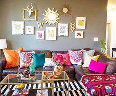 Inspiring Bohemian Style For Living Room