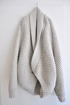 Coatigan: A/W 14/15 women's knitwear commercial update
