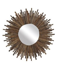 Look what I found on #zulily! Twig Sunburst Mirror #zulilyfinds