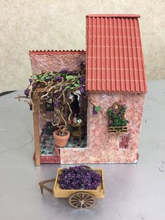 Outside of Marty Y's 2017 1/4 scale Fun Day project The Vineyard