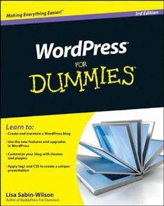 WordPress For Dummies ~ Free ebooks download in pdf,mobi, epub and kindle