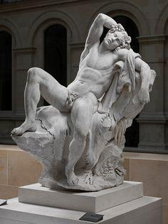 Edme Bouchardon, Faune Barberini, copie d'après l'antique. Département des Sculptures, musée du Louvre. © Musée du Louvre, dist. RMN - Grand Palais / Raphaël Chipault