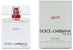 Dolce & Gabbana The One Sport Men's Cologne - Eau de Toilette