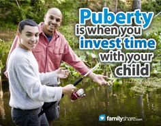 Puberty is a great opportunity for growth for your child and your relationship as parent and child.  www.FamilyShare.com
