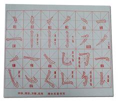 Chinese Calligraphy brush movements