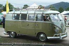 1960 split screen camper van for sale at Vanfest 2005